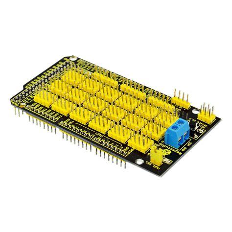 Expansion Sensor Shield For Arduino Mega 2560 V1 Board Murah new mega sensor shield expansion board for arduino