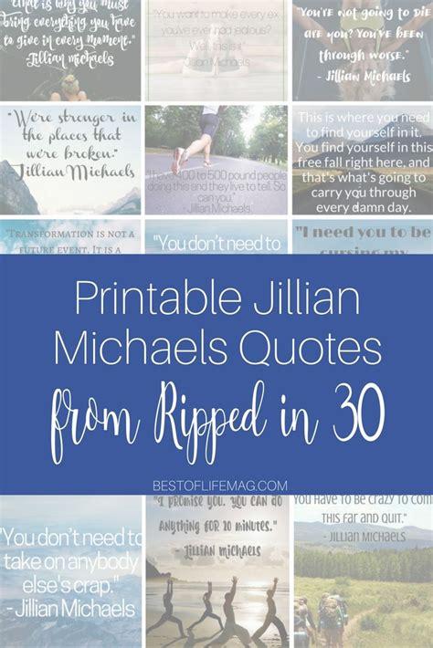 printable diet quotes best 25 jillian michaels ideas on pinterest jillian