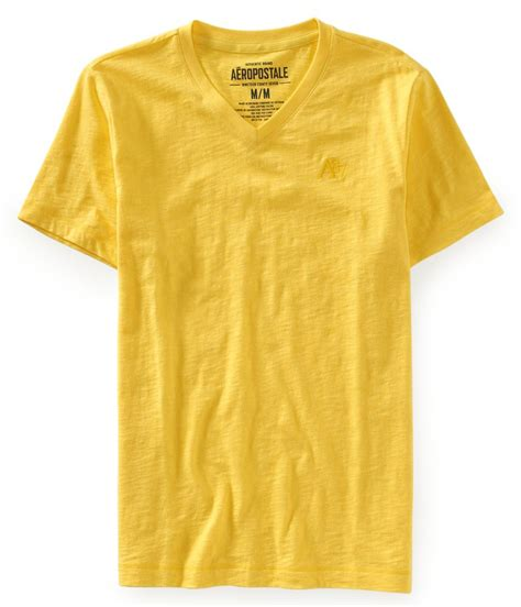Tshirt Ouch Tees M G aeropostale mens embroidered a87 v neck embellished t