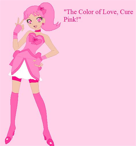 color cure pretty cure color cure pink by miraculouslover21 on