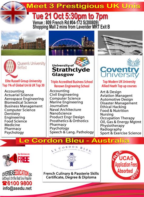 Coventry Sports Management Mba by Overseaseducation Sg Free Advice On Studying Overseas