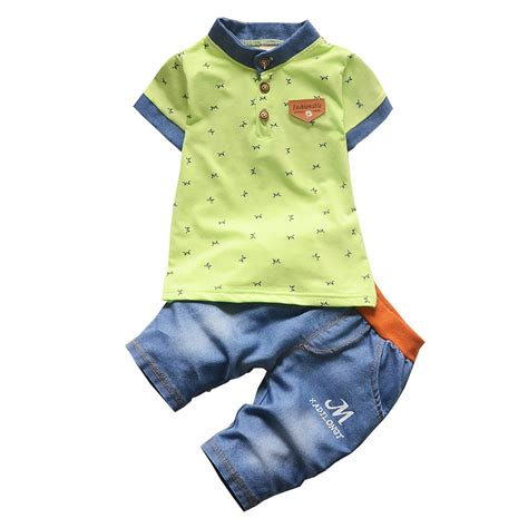 toddler clothes baby boys fashion style summer clothing sets 2pcs