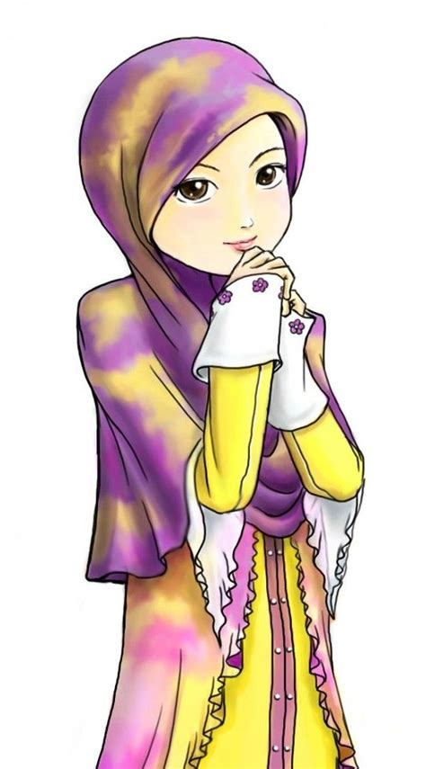 wallpaper wanita cantik arab 16 wallpaper gambar kartun wanita muslimah cantik terbaru