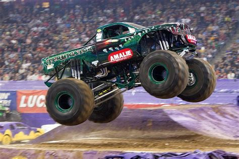 monster truck jam houston 2014 amalie 174 oil company goes monster truck racing terry