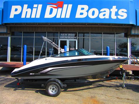 phil dill boats in lewisville 2017 yamaha sx 195 19 foot 2017 yamaha motor boat in