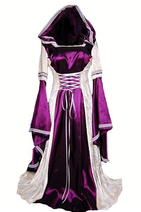 purple renaissance dress costume