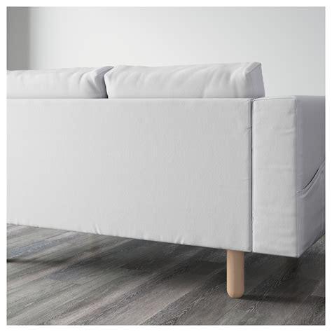 Corner Sofa With Chaise Lounge Norsborg Corner Sofa 2 2 With Chaise Longue Finnsta White Birch Ikea