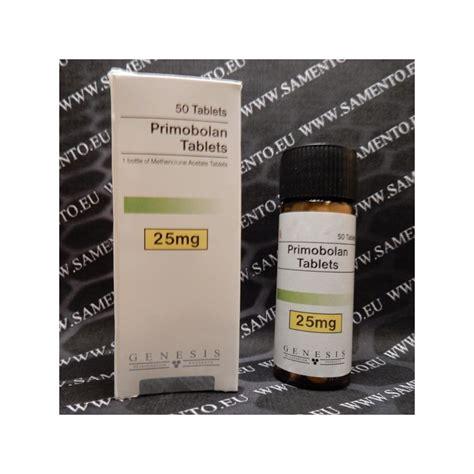 genesis pill primobolan 25 mg tab 50 pills methenolone acetate genesis