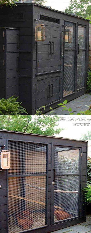 budget diy backyard chicken coop plans