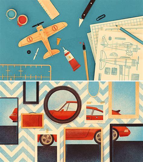 freelance illustrator karolis strautniekas work from 2014