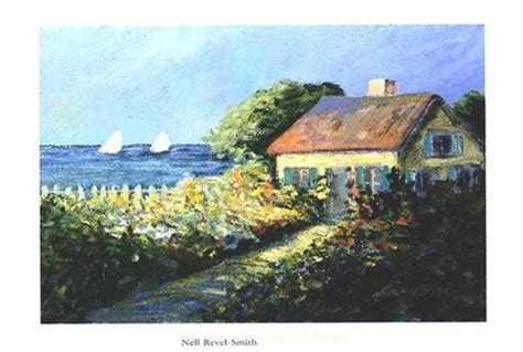 smith seaside cottage fine art print by nell revelsmith