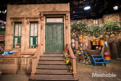 New Set inside the new sesame set for season 46