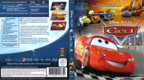 cars 3 der film deutsch cars blu ray dvd cover 2006 r2 german