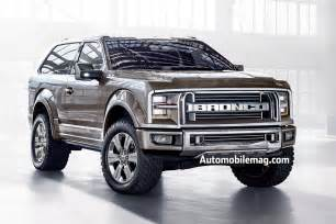 Ford Branco Ford Bronco Ranger Set To Return Automobile Magazine