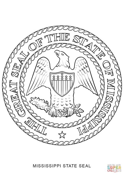 indiana state symbols coloring pages indiana state seal coloring page massachusetts state seal