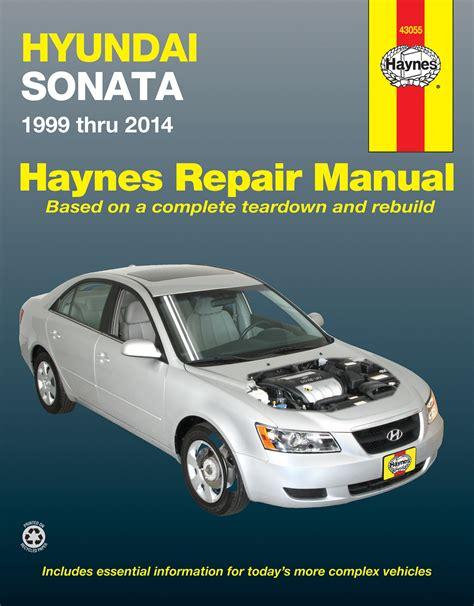 how to fix cars 1999 hyundai sonata regenerative braking hyundai sonata 99 14 haynes repair manual haynes manuals