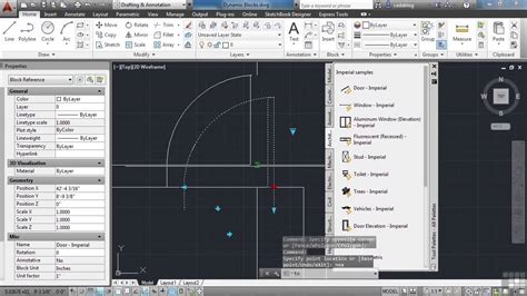 tutorial autocad dynamic blocks advanced autocad 2014 tutorial implementing dynamic