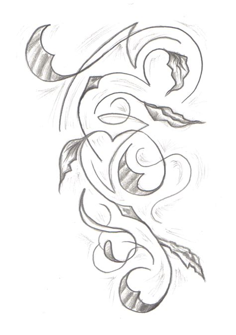 tribal vine tattoo tribal vine by undergroundtattoos on deviantart
