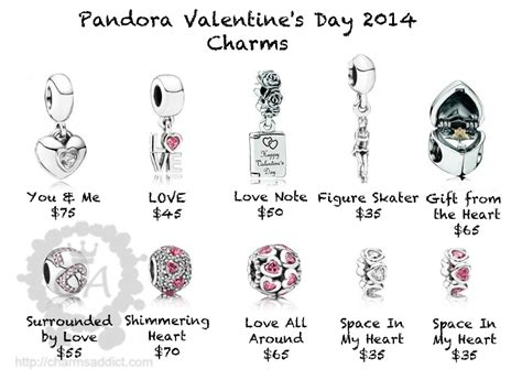 valentines pandora charms pandora charms pandora valentines day 2014 charms