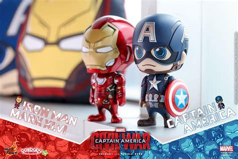 Toys Iron Xlvi Cosbaby L Original captain america civil war captain america iron