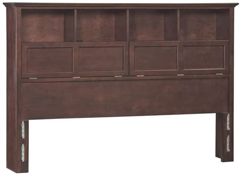 Wood Bookcase Headboards by Whittier Wood Bookcase Headboard
