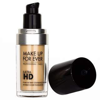 mufe hd ultra fluid foundation in y405 golden honey and the muslimah