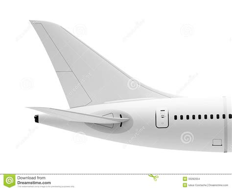tail section airplane tail stock images image 33282054