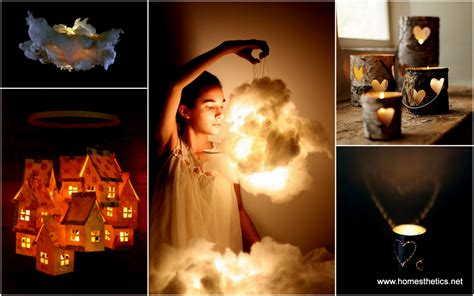 30 Easy DIY Beautiful Shimmering Luminaries and Lamps