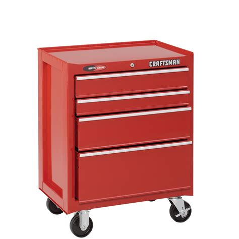 craftsman 26 4 drawer tool chest craftsman 26 1 2 quot 4 drawer quiet glide roll away tool
