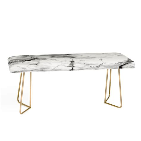marble bench chelsea victoria marble bench deny designs home accessories