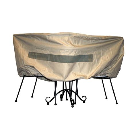 Patio Table And Chair Set Cover by Hearth Garden Polyester Patio Bistro Table And Chair Set