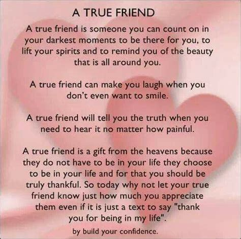 thank you letter to a true friend thank you for being more than a friend being a true