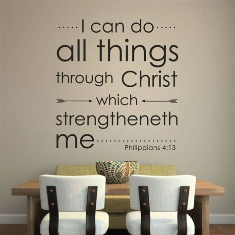 philippians 413 i can do all things through christ who philippians 4 13 decal i can do all things through
