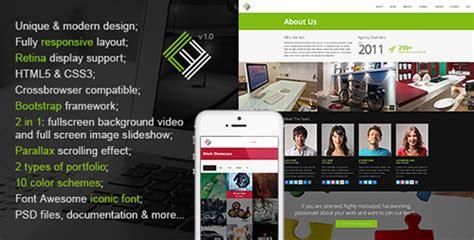themeforest xiara themeforest loft studio responsive parallax html