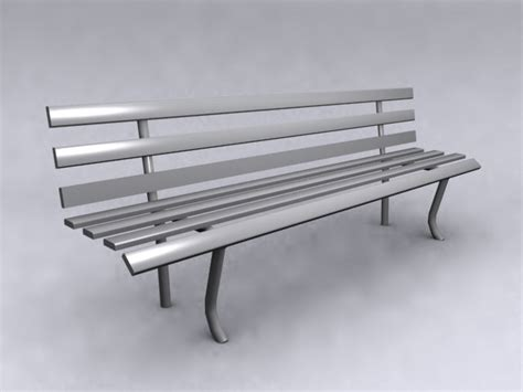 3d bench model public bench 3d models 3d model download free 3d models