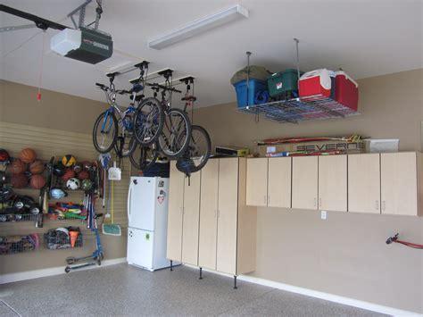 garage overhead storage racks