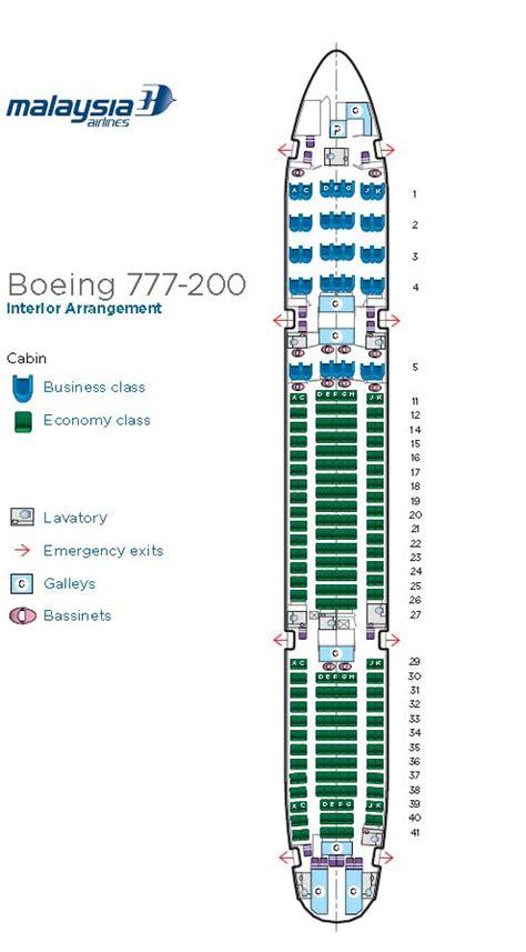 boeing 777 pia seating plan 777 200 seating plan images