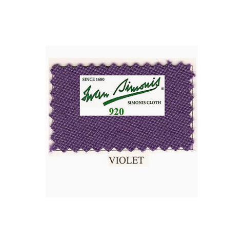 Tapis Billard Simonis by Kit Tapis Simonis 920 7ft Purple Jeux Bmv