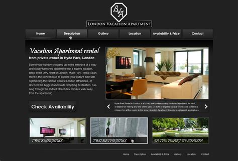 Free Rent To Own Homes Websites by Free Vacation Rental Website Template 11 Phpjabbers