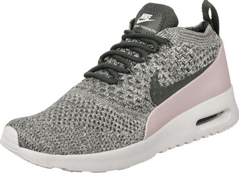 Nike Air Max Thea Grau Pink 528 by Nike Air Max Thea Flyknit W Schuhe Grau Pink