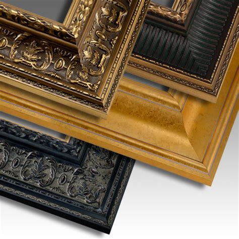 Handcrafted Picture Frames - renaissance handcrafted custom wood picture frames