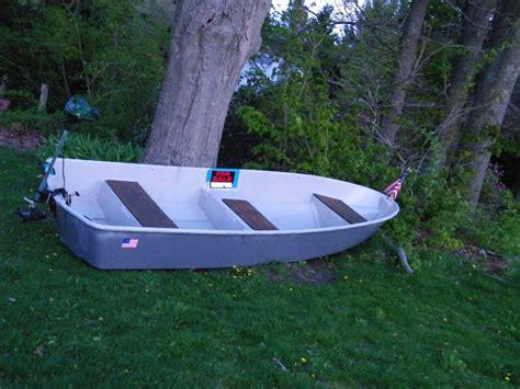 sears gamefisher flat bottom boat 12 foot fiberglass boat 200 bucks needs to go sold