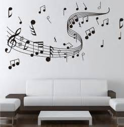 stickers on wall note music wall sticker 0855 music decal wall arts wall