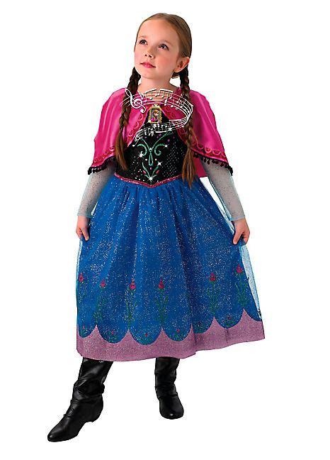 frozen light up dress frozen musical light up fancy dress costume