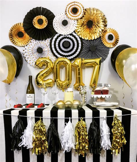 themes for gold new year s eve decorations anniversary engagement