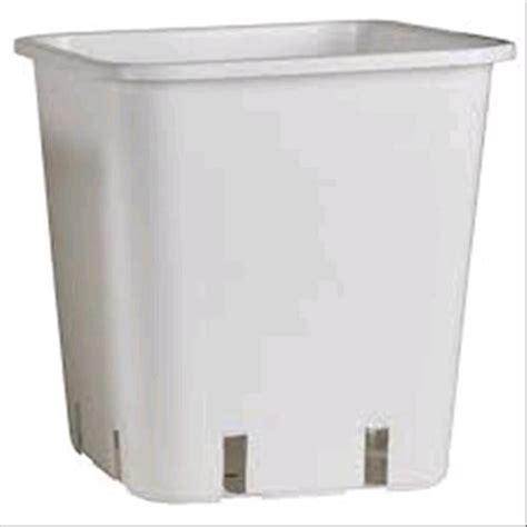 vasi quadrati vasi e sottovasi vasi quadrati vaso quadrato bianco 14