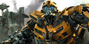 transformers michael bay reveals new look for bumblebee