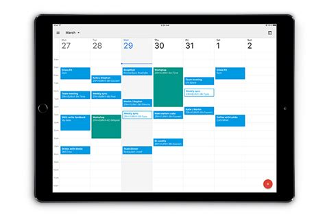 Cgoogle Calendar Official Calendar App Finally Arrives Ubergizmo