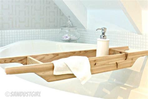 Diy Bathtub Tray by Cedar Bathtub Caddy Maker Crate