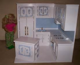 18 Inch Doll Kitchen Furniture kitchen made for american girl size doll by cmcraftedtreasures